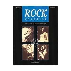 Hal Leonard Rock Classics Piano, Vocal, Guitar Songbook