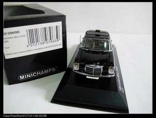 43 MINICHANPS MERCEDES BENZ 200D TAXI CAR MODEL