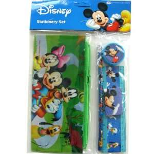 Disney Mickey & Friends Stationery Supplies Set   5 pcs Discount Value