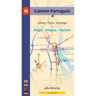 Karten Lisboa   Porto   Santiago (Camino Guides) (Spanish Edition
