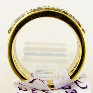 95 CT Diamond Ladies Band Ring 18k Two Tone Gold