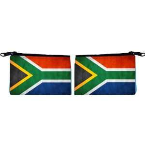 Rikki Knight South Africa Flag Scuba Foam Coin Purse
