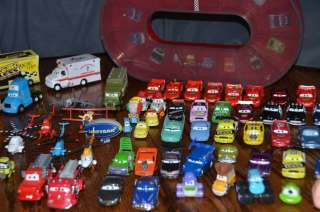HUGE LOT 100+ DISNEY PIXAR CARS DIE CAST TOYS MOVIE LIGHTNING MCQUEEN