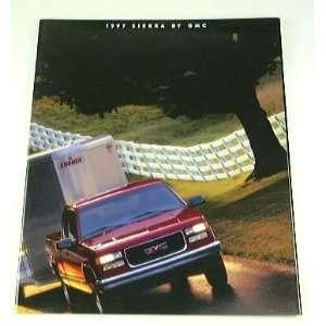 1997 97 GMC SIERRA Pickup Truck BROCHURE SL SLE SLT