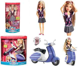 NIB Liv Schools Out Sophie Doll & Scooter Play Set