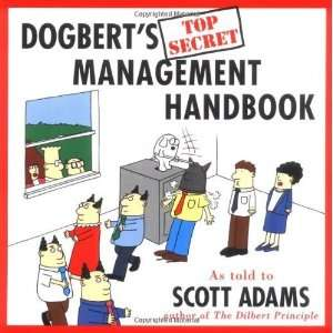 Dogberts Top Secret Management Handbook [Paperback