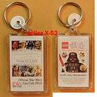 star wars fanclub dk lego keychain darth vader clone returns
