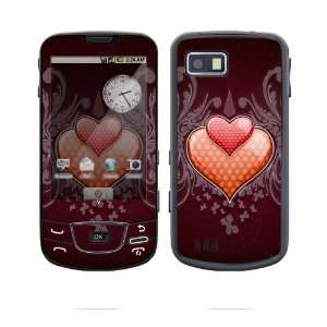 Double Hearts Decorative Skin Cover Decal Sticker for