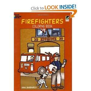 Firefighters Coloring Book (Dover Coloring Books