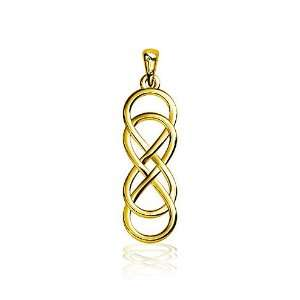 Double Infinity Symbol Charm, Best Friends Forever Charm, Sisters