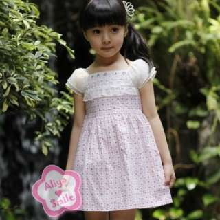 NWT Polka Dots Floral Girls Dress Spring/Summer Dress 2 Color SZ 12M