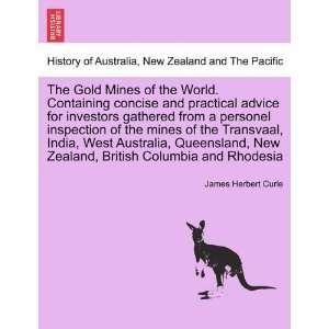 Columbia and Rhodesia (9781241506056) James Herbert Curle Books