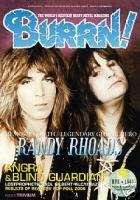 BURRN Magazine 04/2007 RANDY RHOADS OZZY NEW