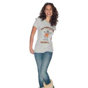 San Francisco Giants Womens Front and Center Mascot T
