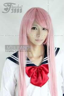 Vocaloid Luka Megurine 100cm Cosplay Wig Dusky Pink M73