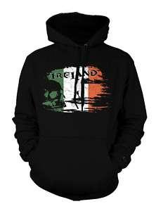 Ireland Irish Country Flag Hoodie Sweatshirt Pullover