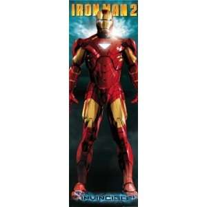Iron Man Armor Comic Book Superhero Movie Giant Door