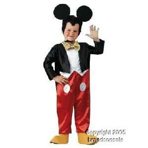 Kids Disney Mickey Mouse Costume (SizeSmall 4 6) Toys & Games