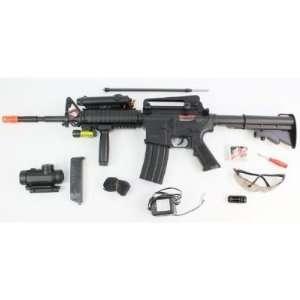Soft Rifle FULL AUTO AEG 350 FPS  SHOOTS VERY HARD High Quality