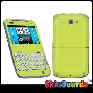 LIME GREEN Vinyl Case Decal Skin To Cover Your HTC Status ChaCha