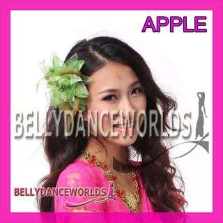 BELLY DANCE BRIDAL WEDDING PROM FLOWER CORSAGE HAIR TIE JEWELRY