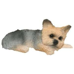 Yorkie Yorshire Terrier puppy cut Collectible Dog Figurine