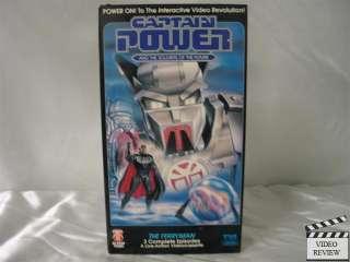 Captain Power Volume 3   The Ferryman VHS 012901012037