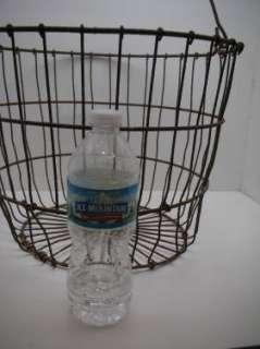 VTG Wire Egg Potato Fruit Garden Folk Art Basket FAB