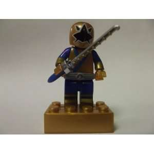 Power Rangers Samurai Minifigure Metallic Samurai Gold Ranger**SEALED