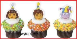 12 Dora, Diego, Boots Cupcake Plac **NEW ITEM