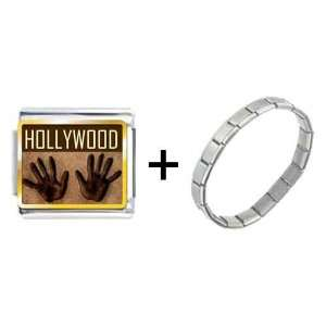Pugster Gold Plated Travel Hollywood Photo Italian Charms