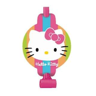 Hello Kitty Pink Stars Birthday Party Cut Out Banner