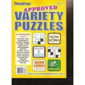 Penny Press Approved Variety Puzzles (February 2011