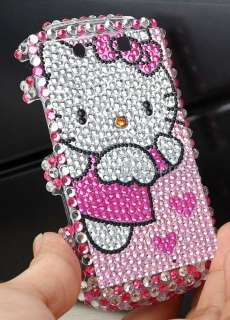Pink Hello Kitty Diamond Case For Blackberry Torch 9800