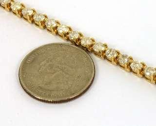 GOLD & 8.50 CTS DIAMONDS LADIES EYE CATCHING TENNIS BRACELET