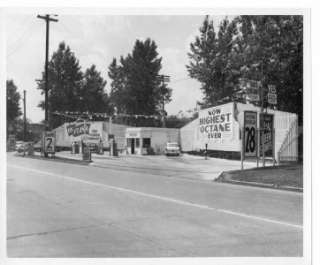 YOU GET FIFTEEN 4X6 PHOTOCOPIES OF ANTIQUE GAS STATIONS/TRUCKS ALL