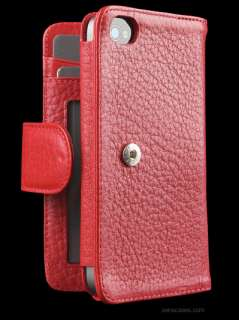 SENA APPLE IPHONE 4 WALLETBOOK LEATHER CASE