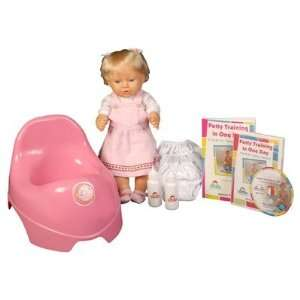 Potty Training in One Day   The Basic System for Girls