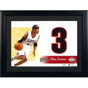 Allen Iverson Philadelphia 76ers Unsigned Jersey Numbers