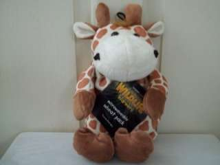 NEW GIRAFFE TIGER ZEBRA LAVENDER WHEAT HEAT PACK BAG MICROWAVABLE XMAS