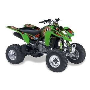 Racing Kawasaki KFX450, KFX450r ATV Quad, Graphic Kit   Pirates