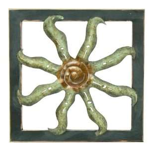 LINK DIRECT Sun Metal Wall Plaque Sold in packs of 24