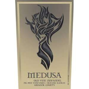 2007 Medusa Pig Pen Vineyard Old Vine Zinfandel 750ml