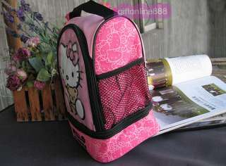 Hello Kitty Insulated Lunch Box drink Cooler bag KL4