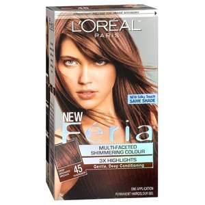 LOREAL FERIA 45 FRENCH ROAST 1EA LOREAL HAIR CARE