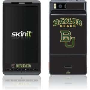 Baylor University Bears skin for Motorola Droid X