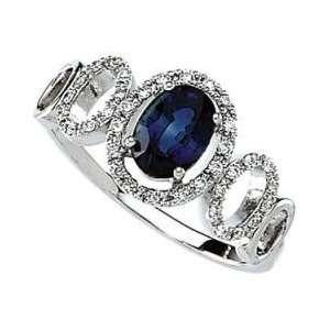 14K White Gold Diamond Semi Mount Engagement Ring Jewelry
