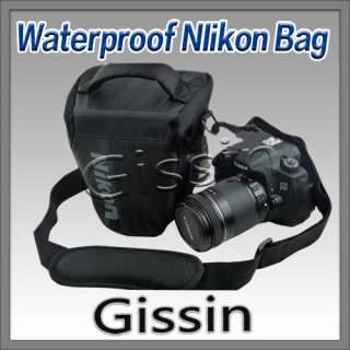 Waterproof Camera Case Bag with rain cover for Nikon D7000 D5100 D3100