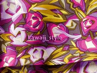 Target Satin HEAD SCARF * Passione Exploded Floral Pink & Purple NWT
