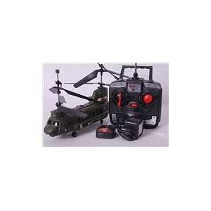 Chinook Remote Control (RC) Army Helicopters   Easy To Fly
